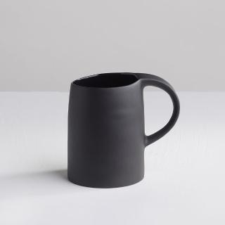 【3 co】水波馬克杯 - 黑