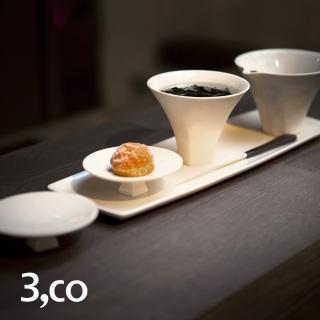 【3 co】享蓋杯組(5件式)