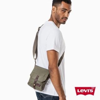 【Levis】男款側背包 / 軍綠- Levis