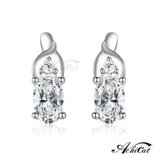 【AchiCat】925純銀耳環 典雅佳人 純銀耳針 GS6090