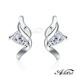 【AchiCat】925純銀耳環 美夢相隨 純銀耳針 GS6084