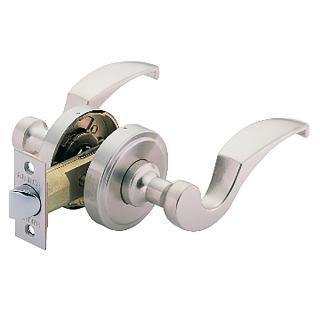 【加安牌】不鏽鋼水平通道鎖 LC603-60mm