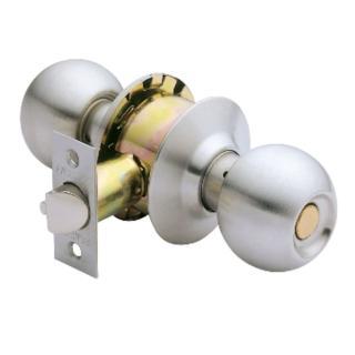 【加安牌】不鏽鋼浴廁鎖 C3610-60mm