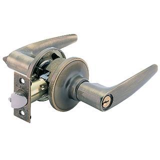 【加安牌】古銅水平房門鎖 LH800-60mm