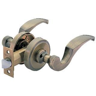 【加安牌】古銅水平通道鎖 LC803-60mm