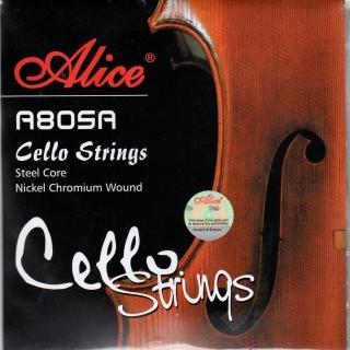 【JYC Music】A805A 大提琴套弦(鋼芯鎳鉻合金纏弦)