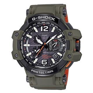 【CASIO 卡西歐】G-SHOCK GRAVITYMASTER 強悍軍事風飛行運動腕錶(56mm/GPW-1000KH-3A)