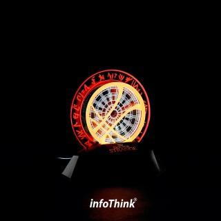 【InfoThink】奇異博士(3D立光燈)