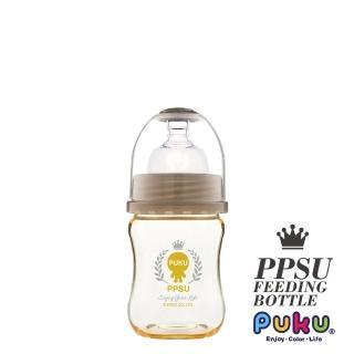 【PUKU藍色企鵝】PPSU母乳實感寬口奶瓶140ML