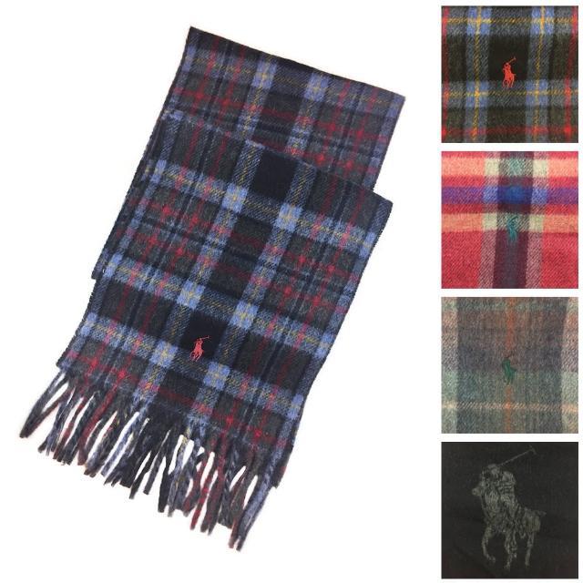 【RALPH LAUREN POLO】2016秋冬新款英倫風格紋&大馬毛料保暖圍巾
