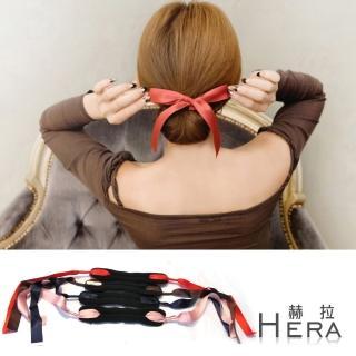 【Hera】蝴蝶結飄帶丸子頭盤髮棒/盤髮器(四色)