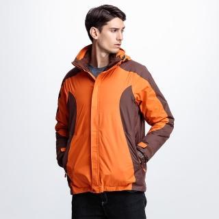 【FOXFRIEND】男款100%防水+超輕羽絨二合一外套(365 大尺碼到3L喔)