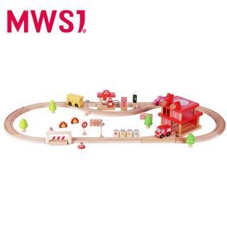 【MWSJ】木製消防局套組(44PCS)