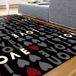 【范登伯格】紐約客 都會時尚地毯-LOVE(160x225cm)