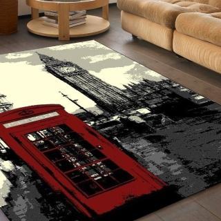 【范登伯格】紐約客 都會時尚地毯-鐘塔(160x225cm)