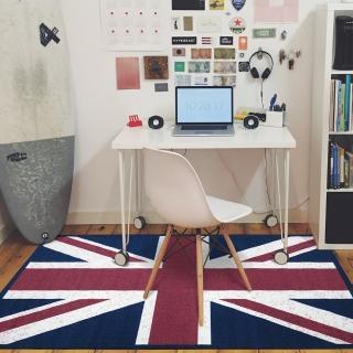 【范登伯格】旗威 英國國旗地毯(100x140cm)
