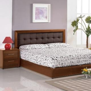 【樂和居】由莉湖桃5尺雙人三件組(床頭片.床板.床頭櫃三件組)