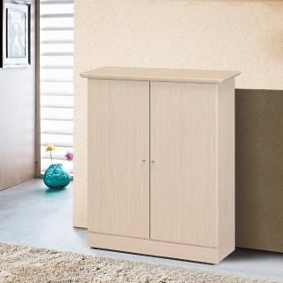 【樂和居】歐瑞2.6尺胡桃色鞋櫃(內附活動隔板四片)