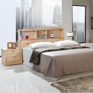 【樂和居】北原橡木5尺雙人床頭箱(不含床墊、床板)