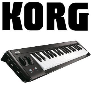 【KORG】Microkey2 迷你主控鍵盤37鍵 / USB傳輸 / 公司貨(microkey2-37)
