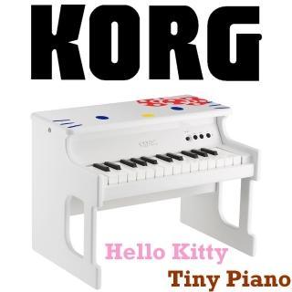 【KORG】Tiny Piano 迷你25鍵電鋼琴Hello Kitty限量版 / 白色 公司貨