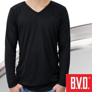 【BVD】棉絨V領長袖(台灣製造)