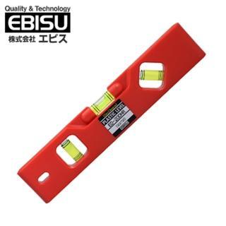 【日本EBISU】精密便利水平尺附磁 塑膠便利型 ED-20DMR