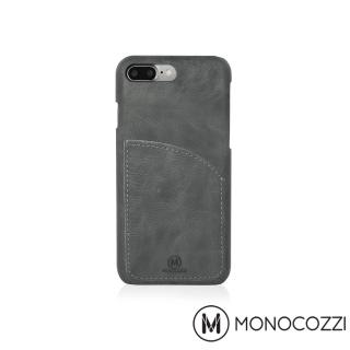 【MONOCOZZI】EXQUISITE iPhone 7 Plus 口袋皮套(黑)