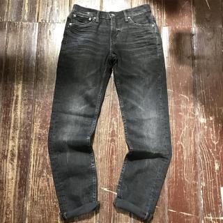 【Levis】511 修身窄管丹寧牛仔褲 黑色 微水洗 重磅