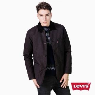 【Levis】ENGINEER 修身外套 復古 黑色 - Levis