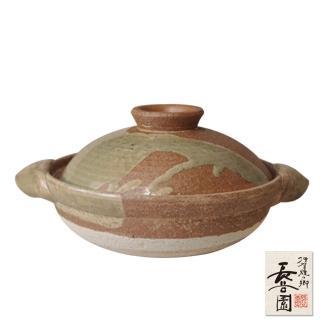 【日本長谷園伊賀燒】長谷園2016鍋祭限量紀念款-伊賀釉料理陶鍋