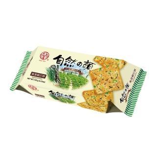 【即期品-中祥】自然之顏紫菜蘇打餅乾140g
