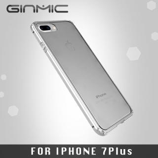 【GINMIC】iPhone 7 PLUS 5.5吋 傳奇超薄金屬邊框(銀色)