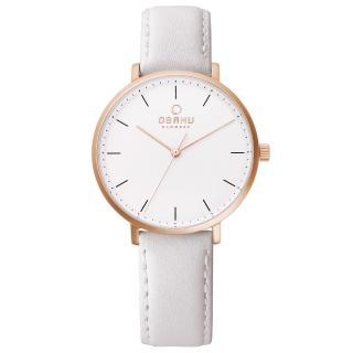 【OBAKU】細膩美學時尚腕錶(V186LXVWRW)