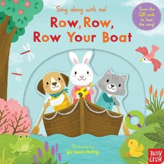 【Song Baby】Sing Along With Me! Row、Row、Row Your Boat 划船歌(英國版操作書)