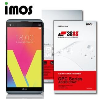 【iMOS 3SAS】LG V20 疏油疏水 螢幕保護貼