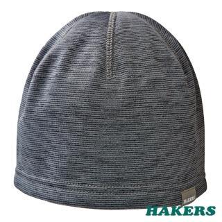 【HAKERS 哈克士】保暖帽(鋼鐵灰)