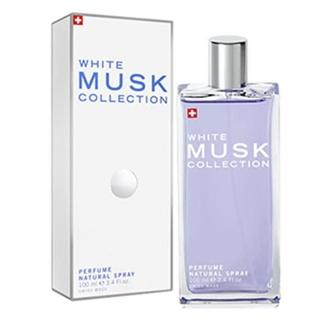 【Musk Collection White Musk】瑞士 經典白麝香淡香水100ml(隨機搭贈針管)