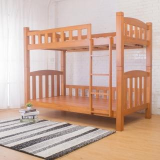 【Bernice】安德魯3.8尺單人實木雙層床架