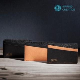 【俬品創意】設計款紙革信用卡夾
