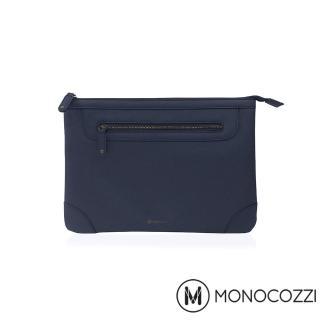 【MONOCOZZI】Posh Macbook Air 11吋皮革保護內袋(深藍)