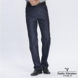 【Emilio Valentino 范倫提諾】經典仿牛仔休閒褲(藍)