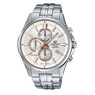 【CASIO EDIFICE】簡單時尚石英腕錶(EFB-530D-7A)