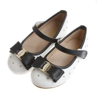 【布布童鞋】Baby View寶貝優璀璨巴黎系列優雅白鑽足弓支撐公主鞋(OFX652M)