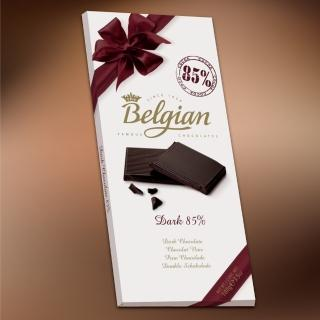 【Belgian‧白儷人】85%黑巧克力(100g)