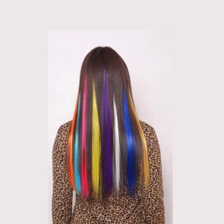 【狐狸姬】髮片彩色髮片造型假髮髮片(不挑色二片)