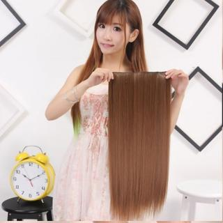 【狐狸姬】髮片一片無痕接髮片造型假髮髮片(直髮)