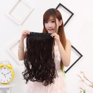 【狐狸姬】髮片一片無痕接髮片捲髮造型假髮髮片(捲髮)