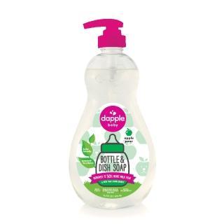 【dapple】奶瓶及餐具清潔液(蘋果甜梨)