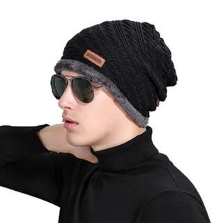 【米蘭精品】針織毛線帽男帽子(韓版潮流時尚首選保暖防寒男配件6色73if43)
